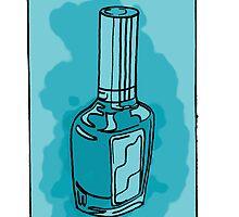 Blue Nail Polish by RalphusVLIV