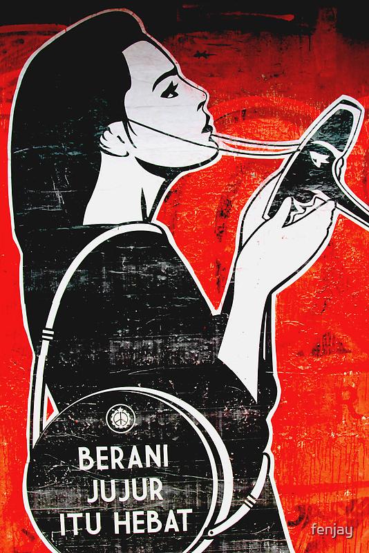 Street Art: global edition # 22 by fenjay