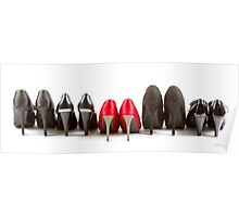 High heels red and black Poster