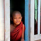 Young monk  by Peter Voerman
