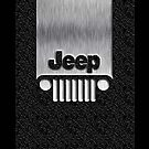 Steampunk Classic Jeep Wrangler logo 2 - Apple iPhone 5, iphone 4 4s, iPhone 3Gs, iPod Touch 4g case by www. pointsalestore.com