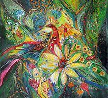 Ode to my flowers by Elena Kotliarker
