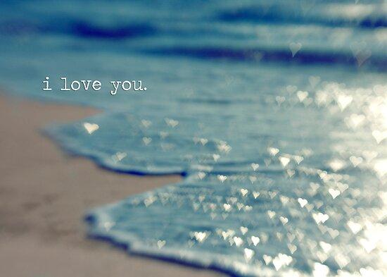 valentine - i love you by Carina Potts
