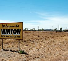 welcome to winton by Bronwen Hyde