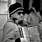Street musician by lumiwa