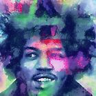 Jimi in Blue by leapdaybride