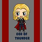 Marvel Avengers Thor Chibi by IcyPanther