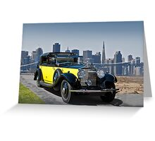 1930 Rolls-Royce Phantom II Greeting Card