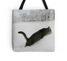 Could Someone Lend Me Some Snow Shoes Tote Bag