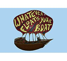 Whatever Floats Your Boat Photographic Print