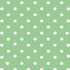 Pale green polkadot iphone case by PixelRider
