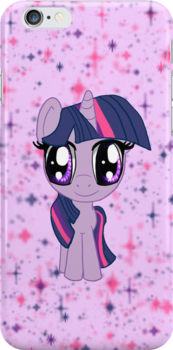My Little Pony Twilight Sparkle Chibi by IcyPanther