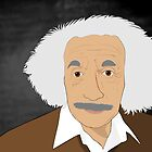 Einstein Cartoon by nealcampbell