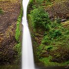 Narrow Waterfall by bobkeenan