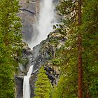 Yosemite Waterfall by bobkeenan