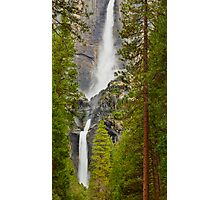Yosemite Waterfall Photographic Print