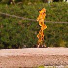 Study of the Eternal Flame (2 of 4) by Kurt LaRue