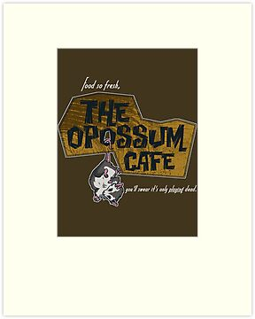 The Opossum Cafe by MightyRain