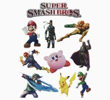 Super Smash Bros. by nectarios94