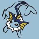 Vaporeon - Pokemon by dreamlandart