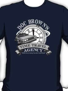 Doc Brown's Travel Agency T-Shirt