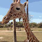 Digital Giraffe by codyvandezande