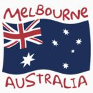 Melbourne Australia Flag			 by FlagCity