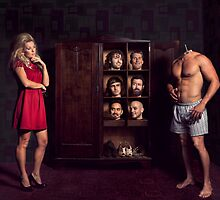 Ultimate Dating - Heads in Cupboard by Alicia Adamopoulos
