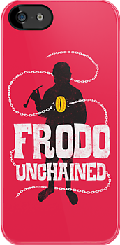 Frodo Unchained by Bizarro Tees