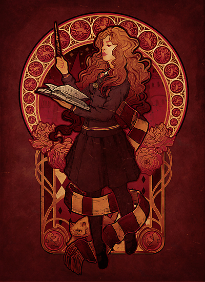 The Brightest Witch of Her Age - Print by MeganLara