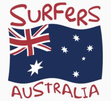 Surfers Australia Flag			 by FlagCity