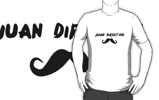 Juan Direction | With Moustache! by inspctrspactime