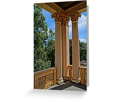 magnificent columns, HDR Photo Greeting Card