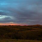 Back lit Ranges by Luke Dart