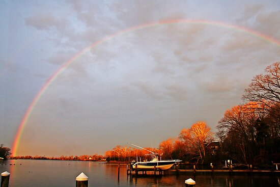 The Morning Rainbow by Eileen McVey