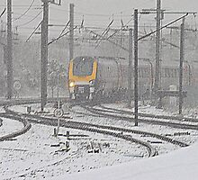 Winter on the East Coast Main Line, England ( 3 Features ) by Ian Alex Blease