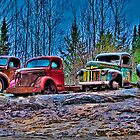 Outed Trucks by morgan earl