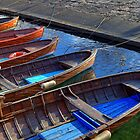 wooden boats by Joana Kruse