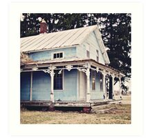 The Abandoned Dollhouse {3} Art Print