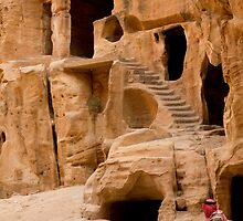 Little Petra,Jordan by Miguel De Freitas