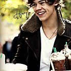 Harry Styles One Direction Starbucks by meow-or-never10
