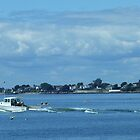 Bailey Island Lobster Boat by Lisa Gilliam Photography