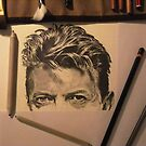 Bowie - work in progress by Mike O'Connell