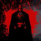 Batman Blood Splatter  by Designsbytopher