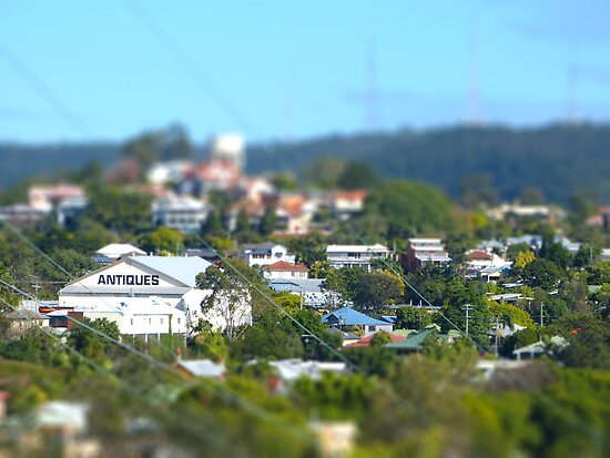 Brisbane - tilt shifted by PhotosByG
