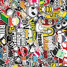 Stickerbomb by Barbo