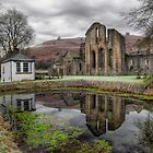 Valle Crucis Abbey by Adrian Evans