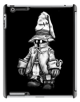 Just Vivi - Black - Ipad Case by tribal191983