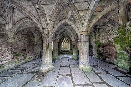 Chapter House Interior by Adrian Evans