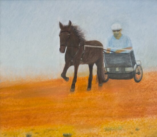 Horse Drawn by Jordan Selha